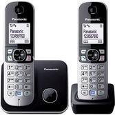 Panasonic Kx Tg6812 Dect Telefon Siyah (çift Telsiz)