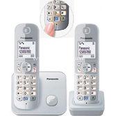 Panasonic Kx Tg6812 Dect Telefon Gri (çift Telsiz)