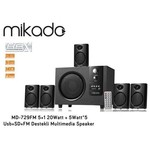 Mikado Md-729fm 5+1 20watt + 5watt*5 Usb+sd+fm Destekli Multimedia Speaker