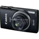 "Canon Ixus 265 Hs 16mp 12x Optik 3.0"" Lcd Full Hd Wifi Dijital Kompakt Siyah"