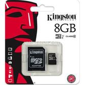 Kingston 8 Gb Micro Kart Class 10