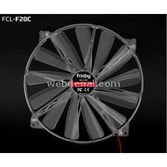 Frisby Fcl-f20c 20 Cm Fan 4-led Blue
