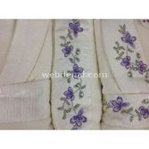 Taç Tekstil Taç Julia Aile Bornoz Seti - Ekru-ekru