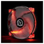Thermaltake Cl-f025-pl20re-a Luna Anti-vibration 200 Mm Kirmizi Led'li Sessiz Fan