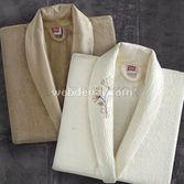Taç Tekstil Taç Loresimo Bambu Aile Bornoz Seti
