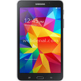 "Samsung T232 Galaxy Tab 4 Quad Core 1.2 Ghz 1.5 Gb 8 Gb 7"" Android 4.4 3g Siyah"