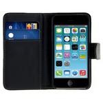 Microsonic Cüzdanlı Deri Iphone 4s Kılıf Siyah