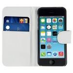 Microsonic Cüzdanlı Deri Iphone 4s Kılıf Beyaz