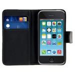 Microsonic Cüzdanlı Deri Iphone 3gs Kılıf Siyah
