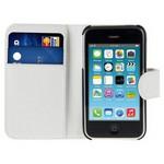 Microsonic Cüzdanlı Deri Iphone 3gs Kılıf Beyaz