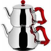 Taç Asya Mini Çaydanlık Takımı (kırmızı)