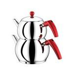 Neva N10 Tomby Deluxe Mini Çaydanlık - Kırmızı