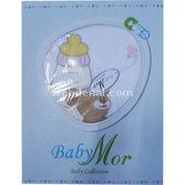 Baby Mor 383092 Pike Ve Nevresim Takimi Biberonlu Ayicik Pembe Pembe