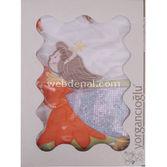 YORGANCıOğLU Rüya Perileri Bebek Nevresim Takımı Krem-oranj