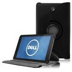 Microsonic 360 Rotating Stand Deri 7'' Dell Venue 7 Tablet Kılıf Siyah