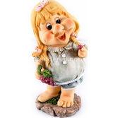Goldmaster Ahd-337130 - Sarı Saçlı Sevimli Kız Yer Cücesi 28cm