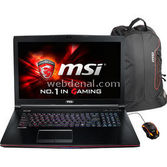 "MSI Ge72 Apache 2qe-035xtr I7-4720hq 8 Gb 1 Tb 2 Gb Vga Gtx 965m 17.3"" Freedos"