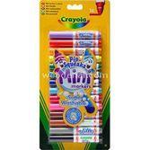 Crayola 14 Mini Yıkanabilir Keçeli Kalem 5010065083431