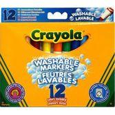 Crayola 12 Süper Yıkanabilir Keçeli Kalem 5010065083295