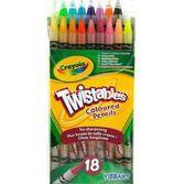 Crayola 18 Çevrilebilen Kuru Boya Kalemi 0071662274184