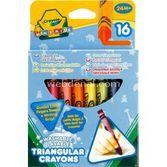 Crayola Üçgen Mum Boya 0071662020163