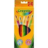 Crayola 24 Renk Kuruboya Kalemi 5010065036246