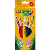 Crayola Kuru Boya Kalemi 12 Renk 5010065036123