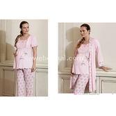 ARTıS Lohusa 3'lü Pijama Takım Pembe L