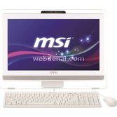 "MSI Ae201-052xtr G3240 2 Gb 500 Gb 20"" Freedos -outlet"