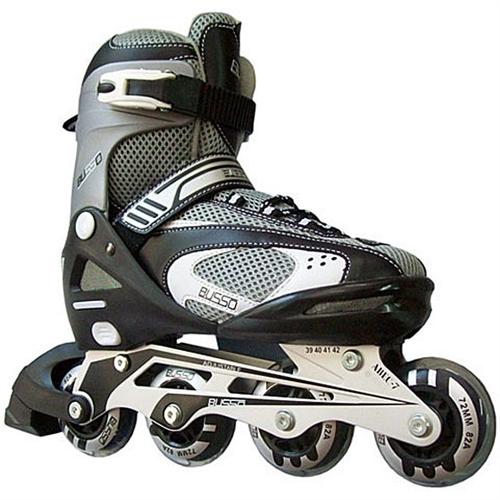 Resim: Busso Paten / Ayak Numarasi Ayarlanabilir Inline Skate ( Siyahi ...