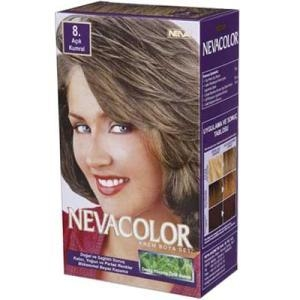 Neva Color NEVACOLOR SET 8 AÇIK KUMRAL SAÇ BOYASI SET Stok Kodu