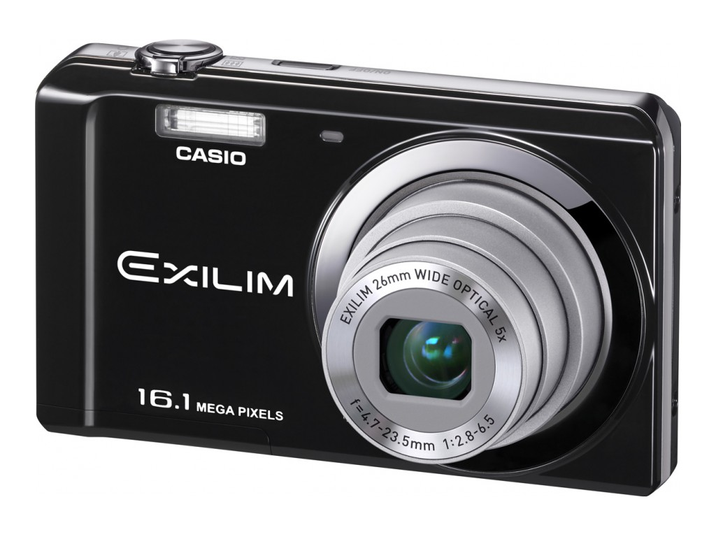 Resim casio ex zs6 b dijital fotoğraf makinesi