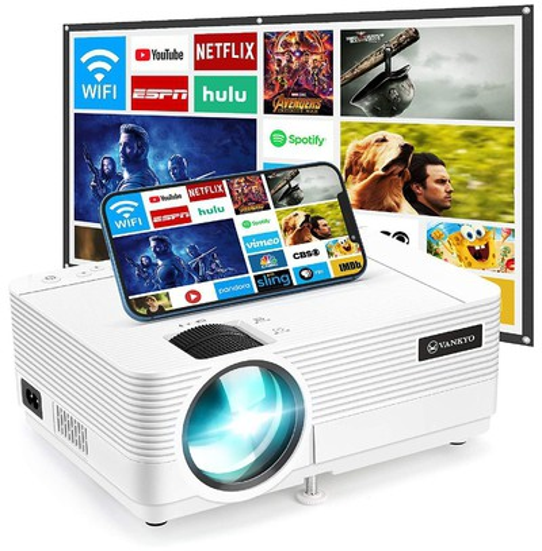Vankyo Leisure 470 1080p Kablosuz Mini Film Projeksiyon