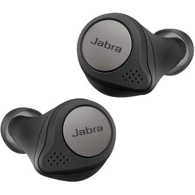 Jabra Elite 75t Wireless Şarjlı Bluetooth Kulaklık - Titanyum Siyah (100-99092000-60)