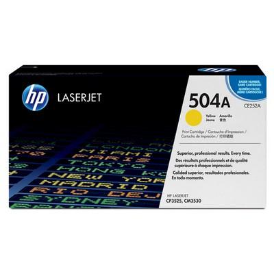 HP 504A Sarı CE252A 7000 Sayfa Toner