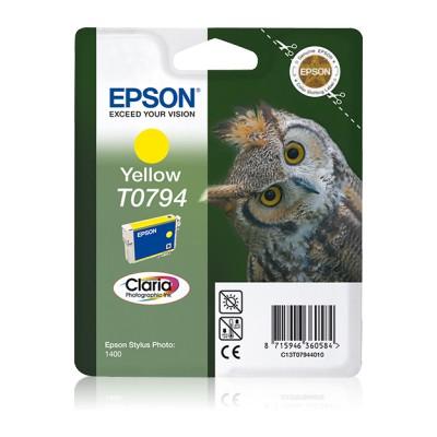 Epson T0794 Sarı Kartuş