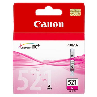 Canon CLI-521M Macenta Mürekkep Kartuş