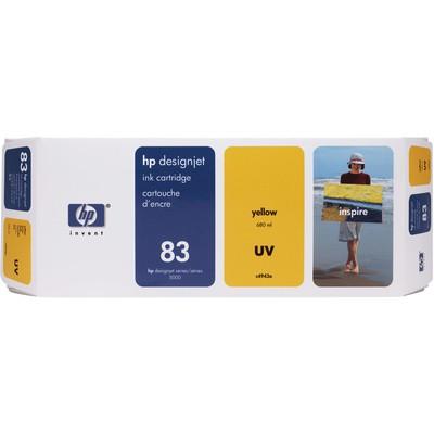 HP 83 Sarı Kartuş C4943A