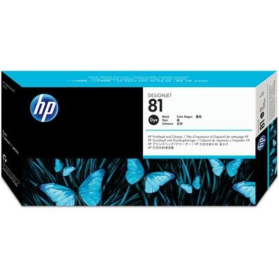 HP 81 Siyah Baskı Kafası+Baskı Kafası Temizleyici C4950A