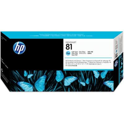 HP C4954A 81 Açık Cam Göbeği Kartuş