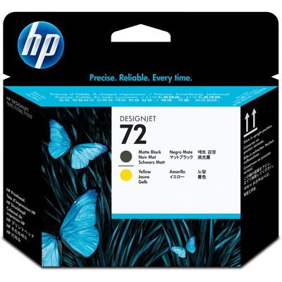 HP 72 Mat Siyah Ve Sarı Baskı Kafası C9384A