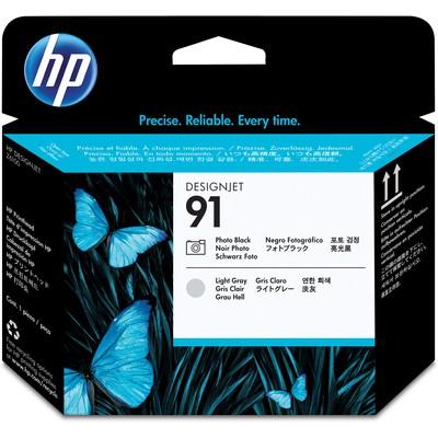 HP C9463A Siyah Fotoğraf ve Açık Gri Baskı Kafası