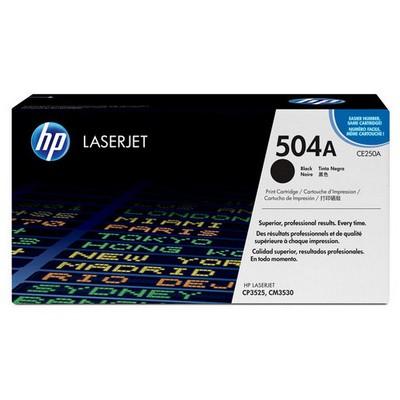 HP 504a CE250A Toner