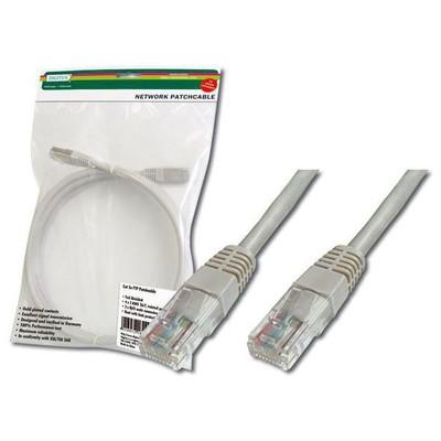 Digitus DK-1511-100 10 Metre CAT5 UTP Patch Cord Grı Rj-45 Network Kablosu
