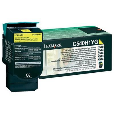 Lexmark C540H1YG Sarı Toner
