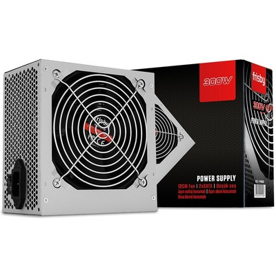 Frisby ATX300W,24PIN,2SATA,12CM FAN Power Supply Güç Kaynağı