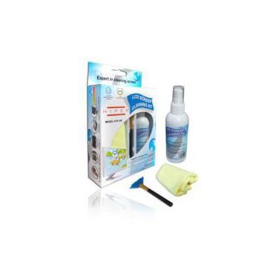 Hiper Hts106 Temizlik Seti Spray-fırça-fiber Bez Bileşen Aksesuarı