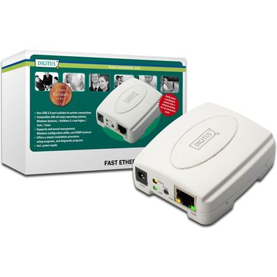 Digitus Dn-13003-w Usb 1 Port Prınt Server