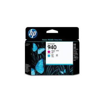 HP 940 Kırmızı+Mavi Baskı Kafası C4901A