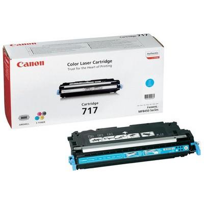 Canon 717 C Mavi Toner - 4000 Sayfa (2577B002)